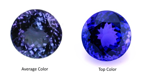 is itm loading tanzanite loose top gemstone good violet looking bluish quality ct image